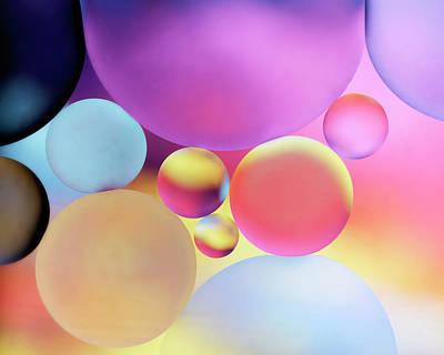 Wilderness Camping - Liquid Planets by Rico Besserdich