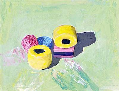 Painting - Liquorice Allsorts by Tina Lewis