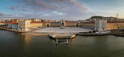Clouds - Lisbon wide in the morning by Artur Carvalho