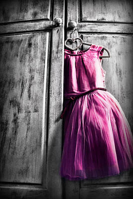 Olympic Sports - Little pink dress by Mihaela Pater