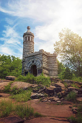 The Bunsen Burner - Little round top by Andy McAfee