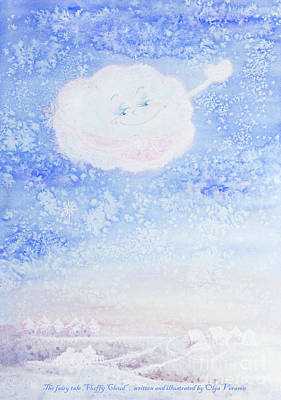 Painting - Little Snowflake by Olga Verasen