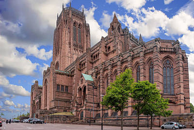 Photograph - Liverpool Anglican Cathedral by Liverpool Vista