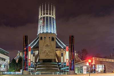 Photograph - Liverpool Metropolitan Cathedral by Liverpool Vista
