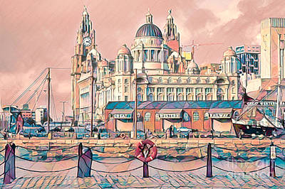 Studio Grafika Typography - Liverpool Waterfront by Brian Tarr