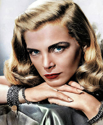 Katharine Hepburn - Lizabeth Scott 2 by Stars on Art