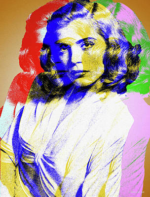 Royalty-Free and Rights-Managed Images - Lizabeth Scott by Stars on Art