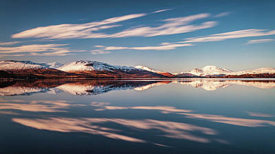Truck Art - Loch Lomond Winter Reflections by Grant Glendinning