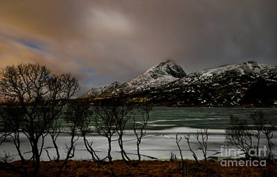 Book Quotes - Lofoten Islands Sunset by Norma Brandsberg