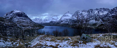 Featured Tapestry Designs - Lofoten Panorama by Norma Brandsberg