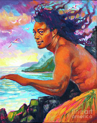 Painting - Lohiau by Isa Maria