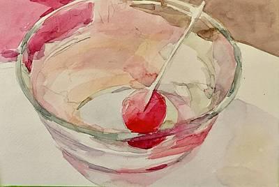 Painting - Lollipop yummy  by Jo Mackenzie