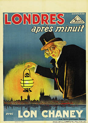Royalty-Free and Rights-Managed Images - London After Midnight, with Lon Chaney, 1927 by Stars on Art
