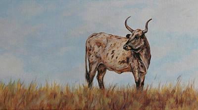 Painting - Lone Mama by Joan Frimberger