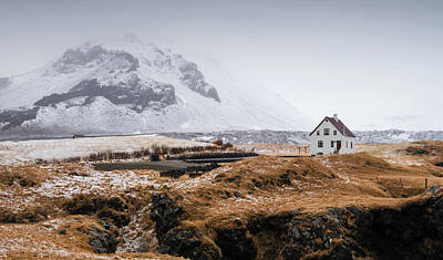 All American - Lonely  house in winter by Michalakis Ppalis