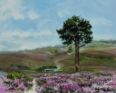 Painting - Lonely Pine by Kathryn Dalziel