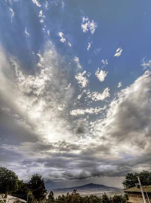 Photograph - Longonot from Kiambogo by Mike Gaudaur