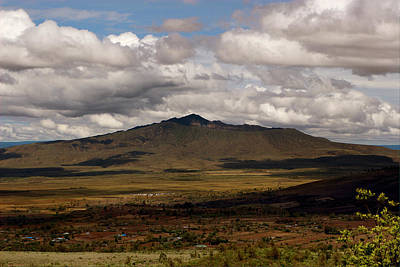 Photograph - Longonot from Kijabe by Mike Gaudaur