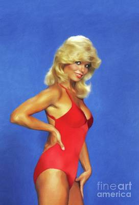 Royalty-Free and Rights-Managed Images - Loni Anderson, Actress by Esoterica Art Agency