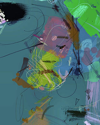 Digital Art - Looking For A Friend No. 9 by Matthew Daigle