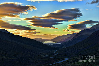 Photograph - Looking West To Loch Maree by Dave Harnetty