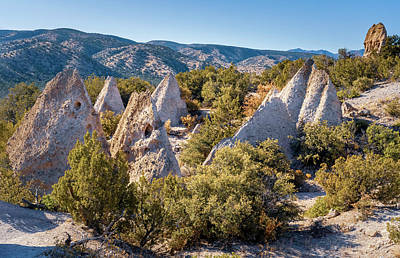 Crazy Cartoon Creatures - Looks Like A Village at Kasha-Katuwe Tent Rocks National Monument  by Joan Carroll