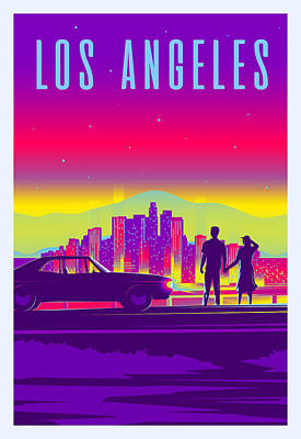 Parks -  Los Angeles  by Celestial Images