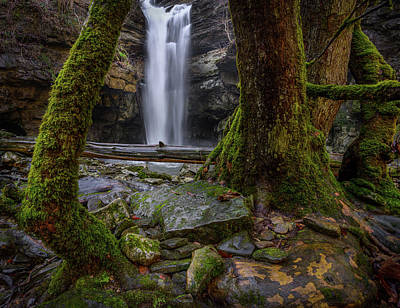 Photograph - Lost Creek Falls by Christopher Nelson