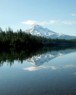 Photograph - Lost Lake Reflection  by Lance Reis