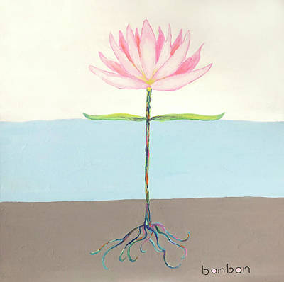 Painting - Lotus by Bonnie Owen