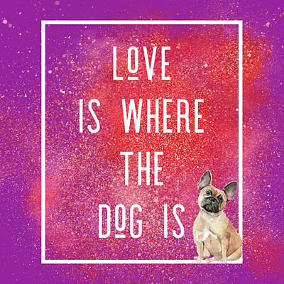 Royalty-Free and Rights-Managed Images - Love and a Frenchie by Brandi Fitzgerald