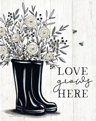 Sean - Love Grows Here - Sophisticated Farmhouse  by Elizabeth Robinette Tyndall