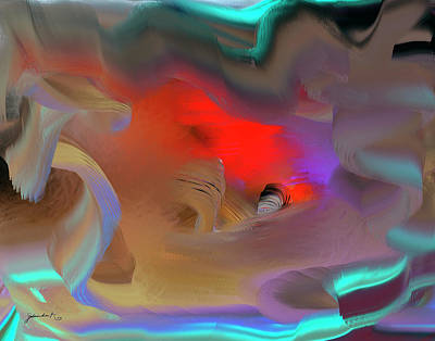 Digital Art - Love Hope Peace by Gerlinde Keating - Galleria GK Keating Associates Inc