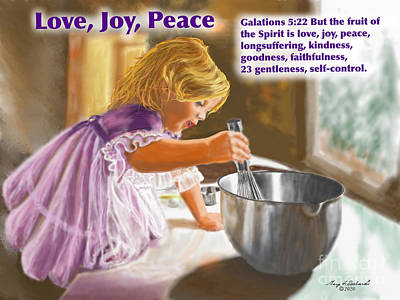 World Forgotten - Love Joy Peace  by Gary F Richards