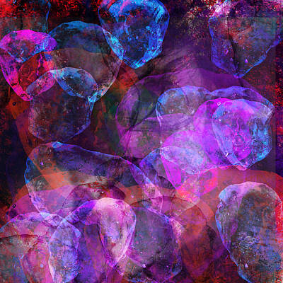 David Bowie Royalty Free Images - Love on the Rocks Royalty-Free Image by Eileen Backman