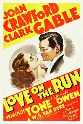 Royalty-Free and Rights-Managed Images - Love on the Run, 1936 by Stars on Art