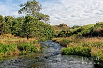 Paul Mccartney - Lovely landscape near Potaruru in New Zealand by Patricia Hofmeester