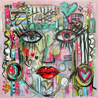 Painting - Lovestruck by Elena Kent