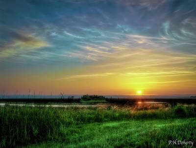 Keith Richards - Lowcountry Sunrise by Phill Doherty