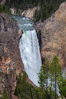 Lucille Ball - Lower Falls Yellowstone by Rob Hemphill
