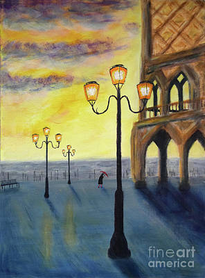 Caravaggio - Lowry Meets Venice by Jon Delorme