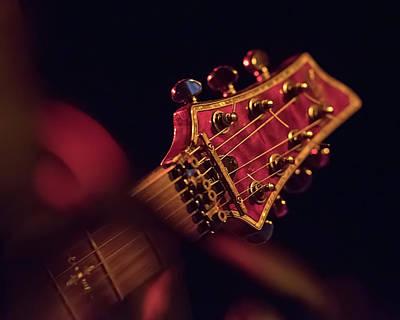 Abstract Graphics - LTD Guitar Headstock by Fon Denton