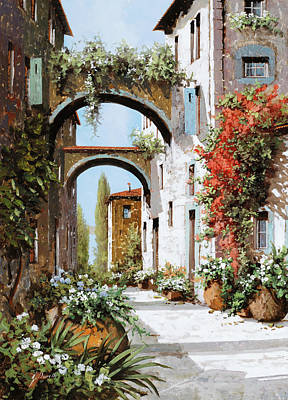 Royalty-Free and Rights-Managed Images - Luce Sui Muri by Guido Borelli