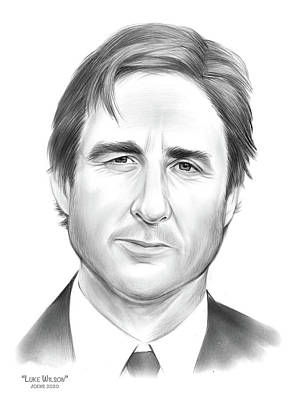 Drawings Royalty Free Images - Luke Wilson - Pencil Royalty-Free Image by Greg Joens