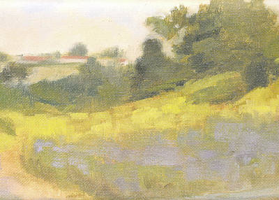 Painting - Lunada Springtime by Curtis Green