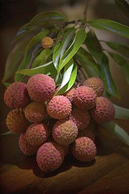 The Rolling Stones Royalty Free Images - Luscious Lychee Royalty-Free Image by Heidi Fickinger