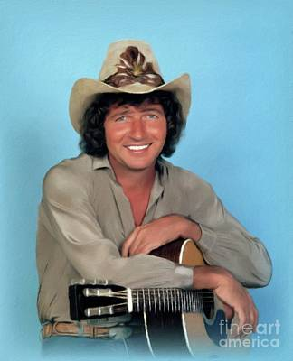 Royalty-Free and Rights-Managed Images - Mac Davis, Music Legend by John Springfield
