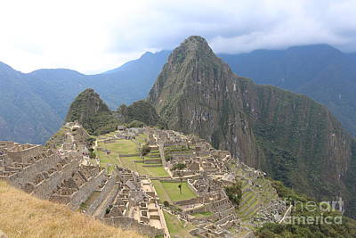 Vintage Pharmacy Royalty Free Images - Machu Picchu Royalty-Free Image by Michael Paskvan