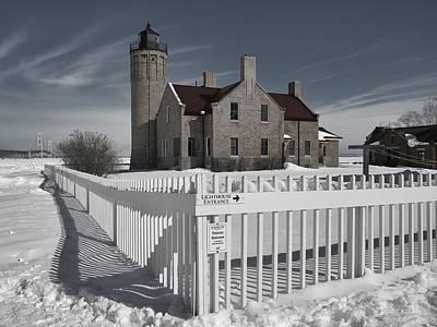 Photograph - Mackinaw Winter by Mark Bear
