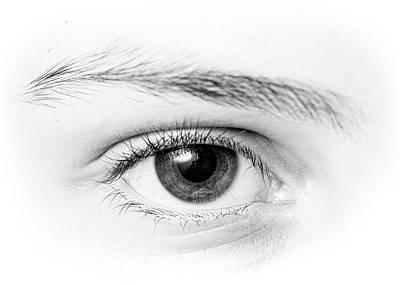 Photograph - Macro Photography - Eye by Amelia Pearn